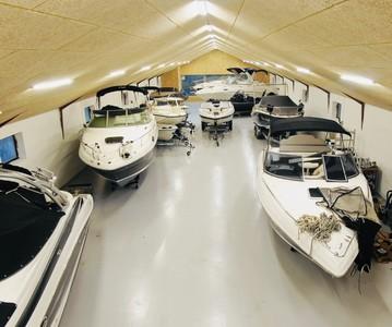 Vinteren står for døren og det er tid til at bestille plads,  hvis du skal have din båd opmagasineret til vinter.
