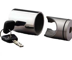 Påhængsmotor lås & styring